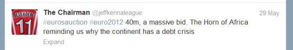 Debt tweet