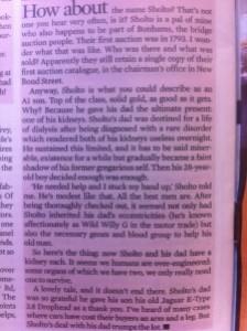 Chris Evans article