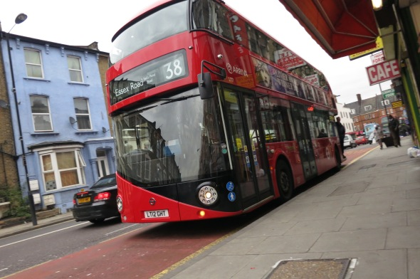 New 38 bus