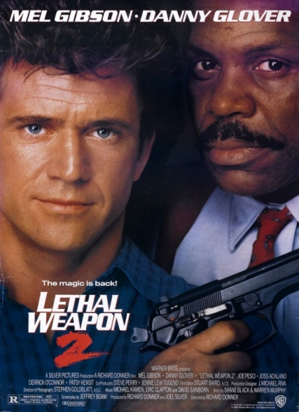 Lethal Weapon 2 film poster