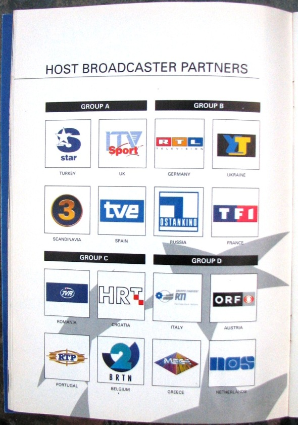 Host broadcaster partners