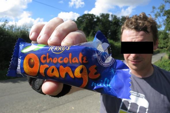 Warham chocolate orange