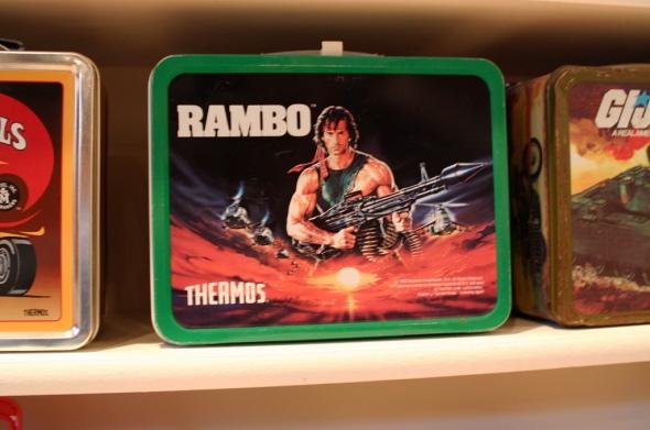 Rambo lunchbox