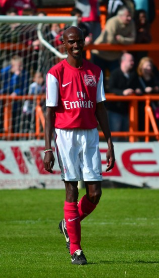 Mo Farah Arsenal