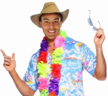 Theo Walcott on holiday