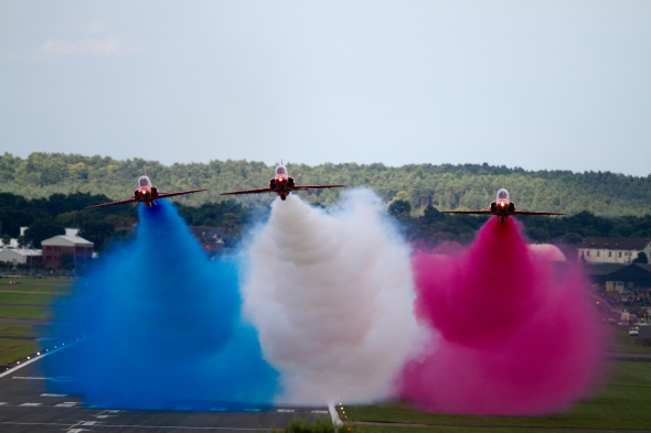 Red Arrows colours