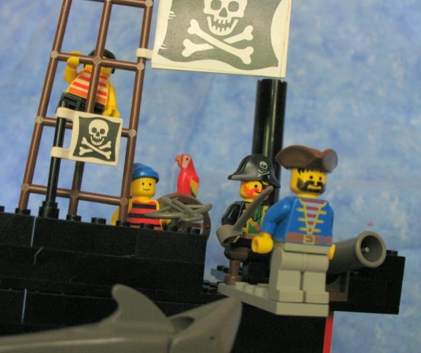 Pirates plank
