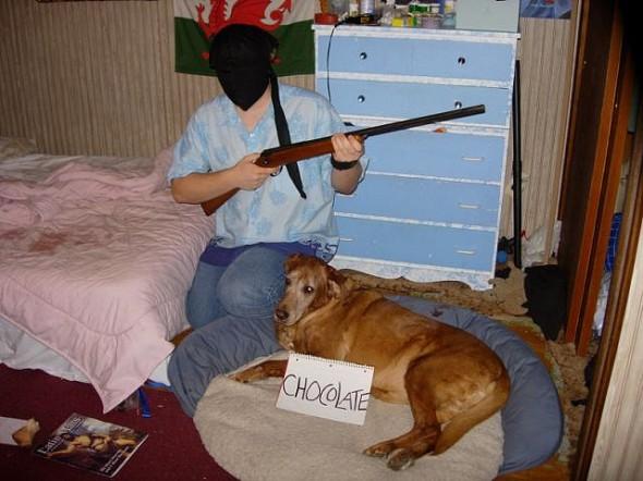 Chocolate hostage